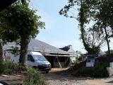 chantier en cours - maison ossature bois - sg plans - morbihan - grand champ