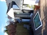 projet renovation petite maison vannes travaux fini terrasse puit de lumière