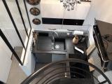 projet renovation petite maison vannes travaux fini vue plongeante cuisine
