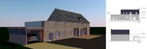 Renovation de maisons, bureaux par Sg plans