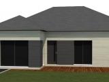 modelisation 3d - maison ossature bois - sg plans - morbihan - grand champ