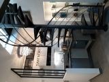 projet renovation petite maison vannes travaux fini cuisine et escalier