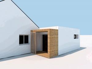 Projet d'extension sur maison récente, Sg plans