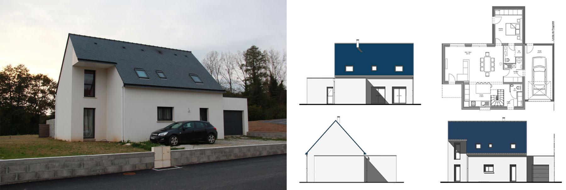 Construction de maisons individuelles, SG plans